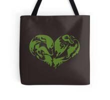 I Heart Dragons Tote Bag