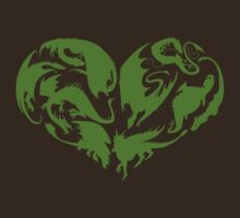 I Heart Dragons T-Shirt