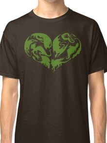 I Heart Dragons Classic T-Shirt