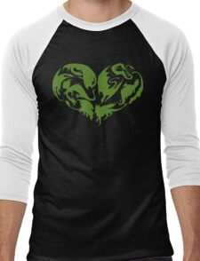 I Heart Dragons Men's Baseball ¾ T-Shirt