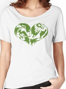 I Heart Dragons Women's Relaxed Fit T-Shirt
