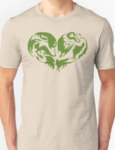 I Heart Dragons Unisex T-Shirt