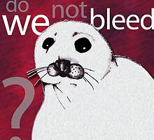 Do we not bleed? by Crockpot