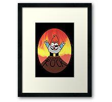Shmebu-ROCK Framed Print
