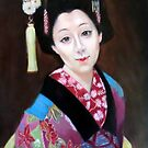 portrait of maiko san by Hidemi Tada