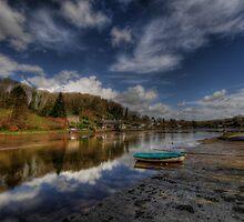 Lerryn, Cornwall by Caroline Bland