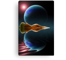 Ripples in Time and Space Canvas Print