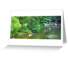 River Ericht Greeting Card