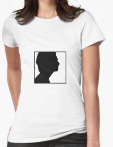 // Girls silhouette // Womens Fitted T-Shirt