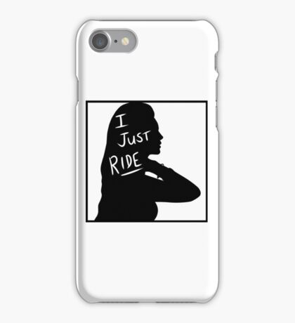 Lana Del Rey silhouette  iPhone Case/Skin