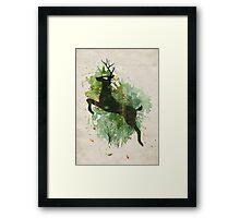 Burst of Nature Framed Print