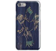Embroidered Bird iPhone Case/Skin