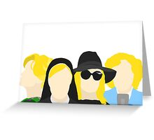 Jessica Lange from American Horror Story Greeting Card