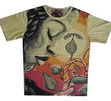 yoga men t shirt Buddha Ganesha cotton by yoga4us