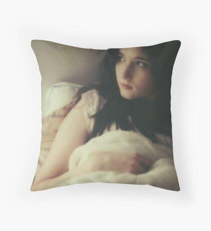 Painted Light Throw Pillow
