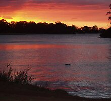 Renmark sunset by elphonline