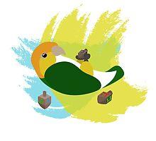 Chanukah Caique by parrotproducts