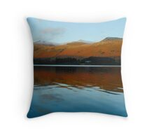 Thirlmere by Evening Light Throw Pillow