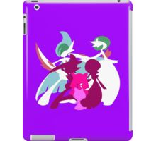 Ralts Kirlia Gardevoir Gallade Evolution iPad Case/Skin