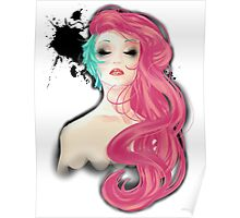 Two-tone Hair Poster