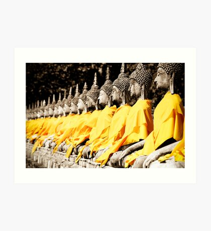 Buddhist Purity Art Print