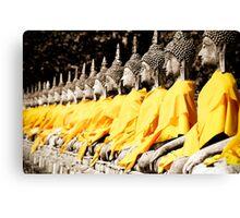 Buddhist Purity Canvas Print
