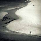 Footprints In The Sand by Ben Loveday