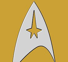 Star Trek Badge by mlets