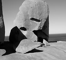 rock art 3 b&w by melmac