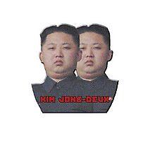 Kim Jong-Deux Photographic Print