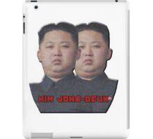 Kim Jong-Deux iPad Case/Skin