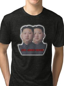 Kim Jong-Deux Tri-blend T-Shirt