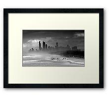 Windy City, Gold Coast, Queensland Australia Framed Print
