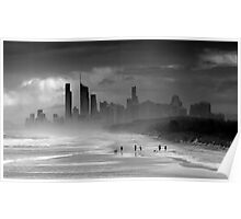 Windy City, Gold Coast, Queensland Australia Poster
