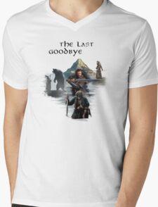 The Last Goodbye Mens V-Neck T-Shirt