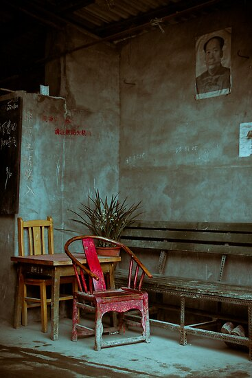 Red Chair by BrainCandy