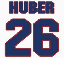 National baseball player Justin Huber jersey 26 by imsport
