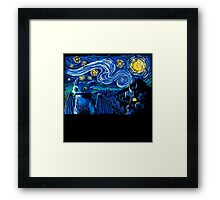 Starry Berk Framed Print