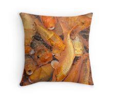 Fish soup Throw Pillow