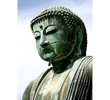 Buddha head Kamakura series1 Photographic Print