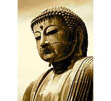buddha head Kamakura series2 Photographic Print