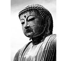 buddha head Kamakura series3 Photographic Print
