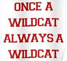 Once a Wildcat Always a Wildcat Poster