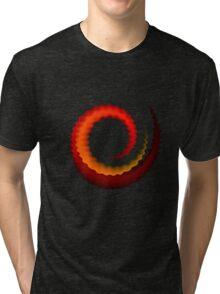Rippled Swirl Tri-blend T-Shirt