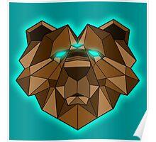 Spirit Animal (Brown Bear) Poster