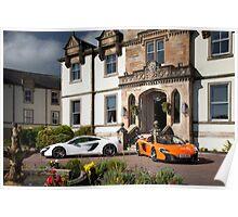 Two McLaren 650S's Poster