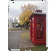 Telephone Boxes at Ross iPad Case/Skin