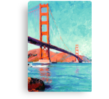 Golden Gate Bridge San Francisco California  Canvas Print