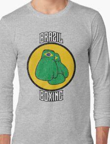 Brazil Boxing Long Sleeve T-Shirt