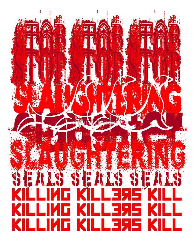 Killing Killers Kill....Seals by montdragon